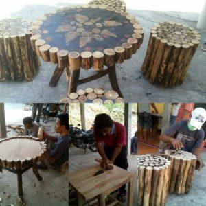 Kerajinan limbah kayu